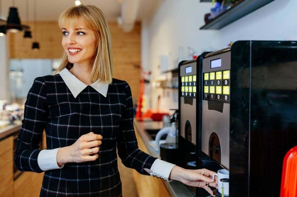 MisterBean, machine à café