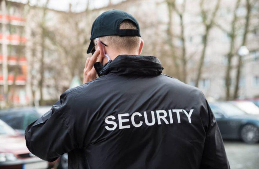 Agent de sécurité : la tenue réglementaire